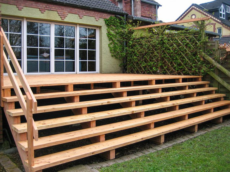 45 inspirational holzterrasse treppe bauen pictures terrassenideen blog terrassenideen blog. Black Bedroom Furniture Sets. Home Design Ideas